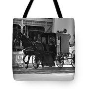 Amish Transportation Tote Bag