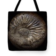 Ammonite Back Tote Bag