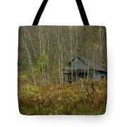 Among The Birches 0020 Tote Bag