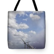Amongst The Clouds Tote Bag