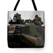 Amphibious Assault Vehicles Make Tote Bag
