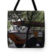 Amphibious Vehicle Used For Ducktour In Singapore Tote Bag
