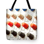 Amplifier Dials Tote Bag by Tom Gowanlock
