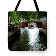 Amsterdam By Boat Tote Bag