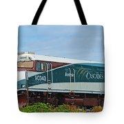 Amtraks Cascade Engine Tote Bag