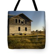An Abandoned Hospital Stands Alone Tote Bag