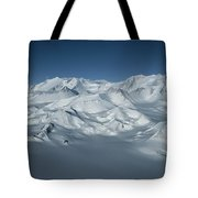 An Aerial View Of Mount Vinson Tote Bag