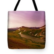 An Alpine Lake On Beartooth Pass  Tote Bag