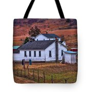 An Amish Farm Tote Bag