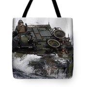 An Amphibious Assault Vehicle Tote Bag