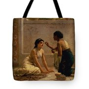 An Ancient Custom Tote Bag by Edwin Longsden Long