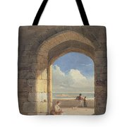 An Arch At Holy Island - Northumberland Tote Bag