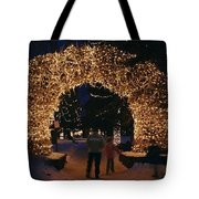 An Arch Built Of Antlers Tote Bag