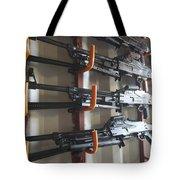 An Armory Of Pk Machine Guns Designed Tote Bag
