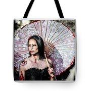 An Asian Zombie Tote Bag by Stwayne Keubrick