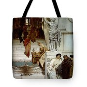 An Audience At Agrippa's Tote Bag