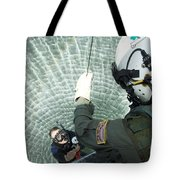 An Aviation Rescue Swimmer Instructor Tote Bag