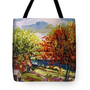 An Early Change Tote Bag