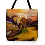 An Early Morning Tote Bag