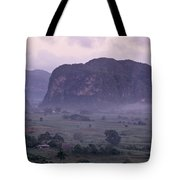 An Early Morning Landscape In Cubas Tote Bag