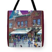 An Early Snow For Cafe Monte Alto Tote Bag