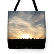 An Evening On The Water Tote Bag