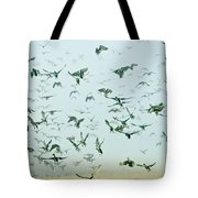 An Explosion Of Mallards Tote Bag