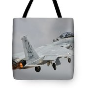 An F-15d Eagle Baz Aircraft Tote Bag