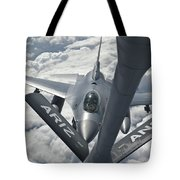 An F-16 From Colorado Air National Tote Bag