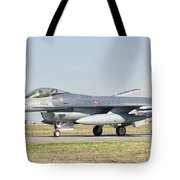 An F-16c Block 50 Of The Turkish Air Tote Bag