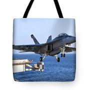 An Fa-18f Super Hornet Takes Tote Bag