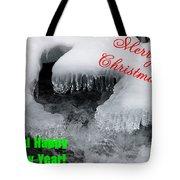 An Icy Christmas Tote Bag