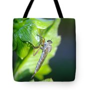 An Insect Resting  Tote Bag