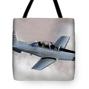An Iraqi Air Force T-6 Texan Trainer Tote Bag