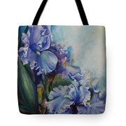 An Iris For My Love Tote Bag