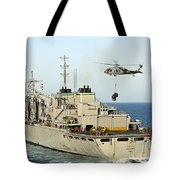 An Mh-60s Knighthawk Lifts Cargo Tote Bag