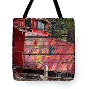 An Old Caboose  Tote Bag