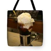 An Old-fashioned Ice Cream Soda Awaits Tote Bag