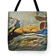 An Old Warrior Comes Home Tote Bag
