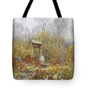 An Old Well Brook Surrey Tote Bag