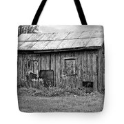 An Orderly World Monochrome Tote Bag