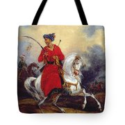 An Ottoman On Horseback Tote Bag