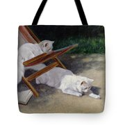An Uninvited Guest Tote Bag