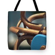 Anchored Down Tote Bag