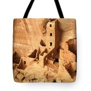 Ancient Anasazi Indian Cliff Dwellings Tote Bag