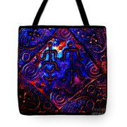 Ancient Family In Cosmos Tote Bag