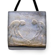 Ancient Hockey Tote Bag