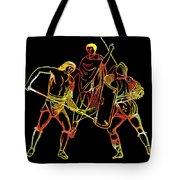 Ancient Roman Gladiators Tote Bag