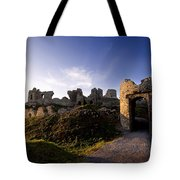 Ancient Ruins On Top Of The Rock Tote Bag