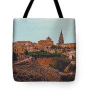 Ancient Spanish City Tote Bag